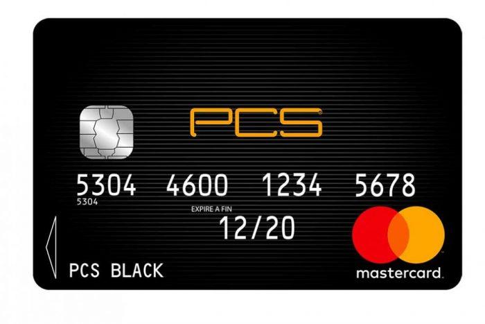 Carte prépayée PCS de MasterCard : tarifs, avantages et inconvénients