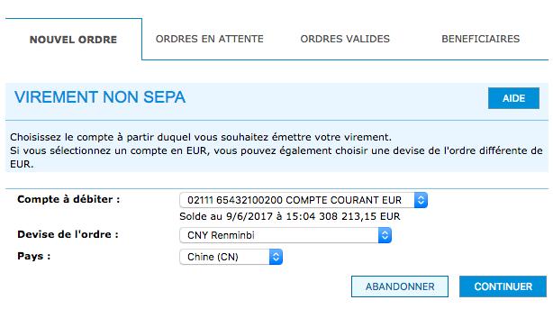 Virement non SEPA : quels sont les frais associés à un virement à l'étranger ?